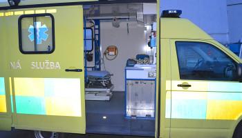 Pronájem sanitního vozu VW T5 2.5 TDI 4x4