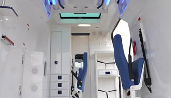 Bazar - VW Crafter - Sanitka kategorie B - 2013