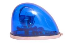 Půjčovna majáků - modrý rotační maják