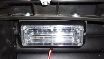 Montáž skrytých LED světel - BMW