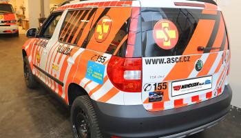 Sanitní vůz rendez-vous/RLP - Škoda Yeti