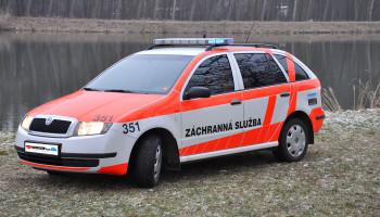 Sanitní vůz rendez-vous Škoda Fabia