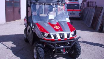 Yamaha Rhino polepy vozidla pro ASČR