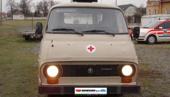 Pronájem sanitky Škoda 1203