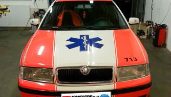 Sanitní vůz RZP Škoda Octavia 1.9 TDI