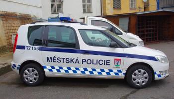 Montáž majákové rampy - Městská policie Příbram