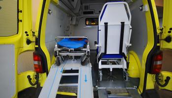 Repase sanitního prostoru, transportní technika
